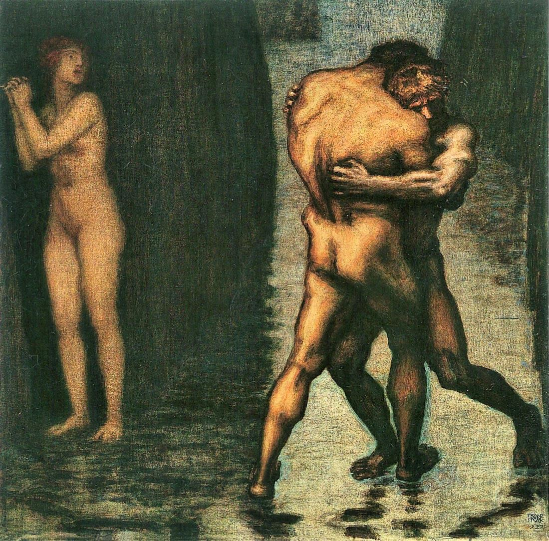 The struggle for women [2] - Franz von Stuck